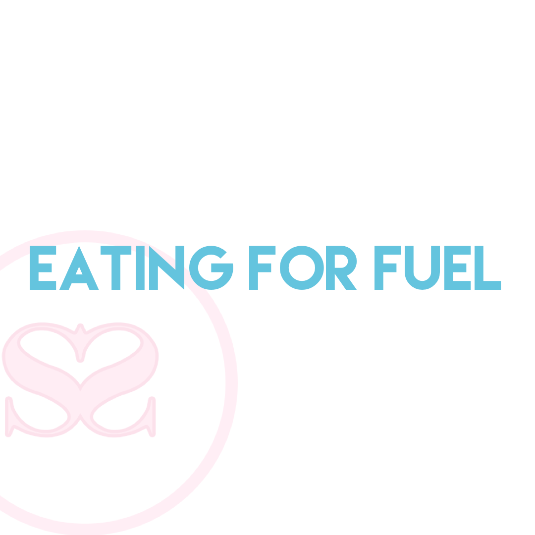 Eating for fuel, not hunger